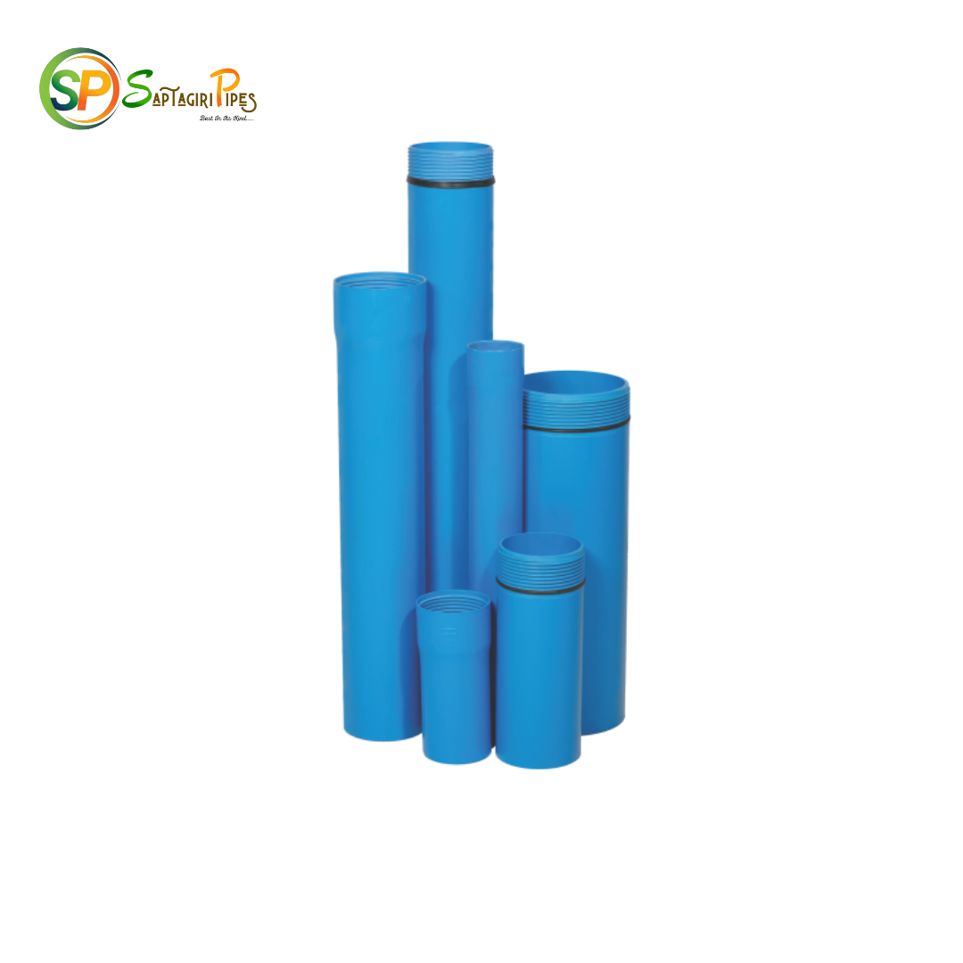 sapatagiri blue borewell casing threaded pipes